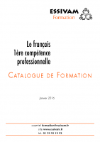 Essivam_Catalogue de formation_2016